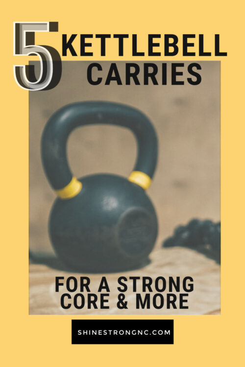 5 kettlebell carries for a stronger core