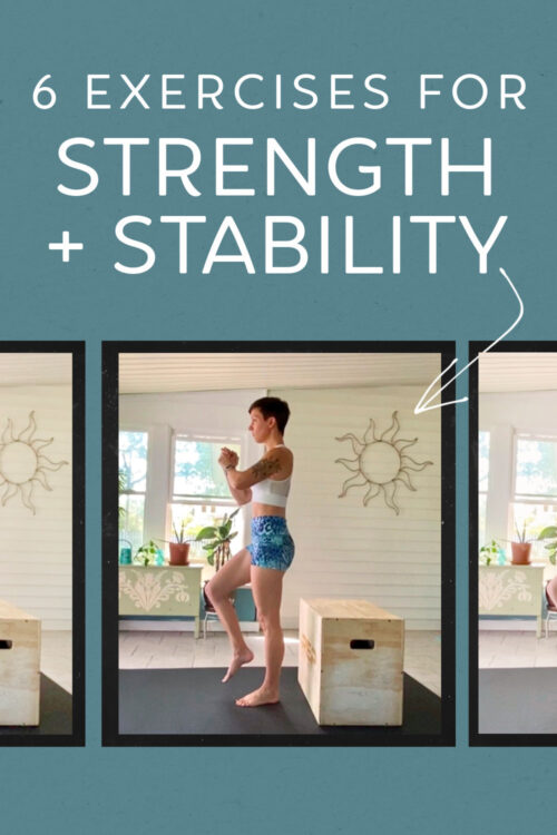 6 exercises for strength and stability