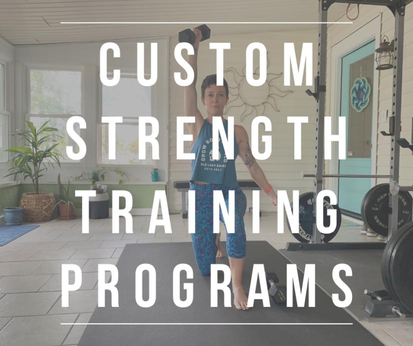 Personal Online Coaching; Custom Strength Training Programs