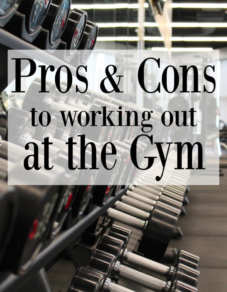 Pros Cons Gym